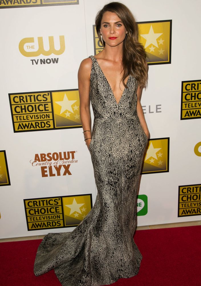 Keri Russell at the 2014 Critics' Choice Television Awards