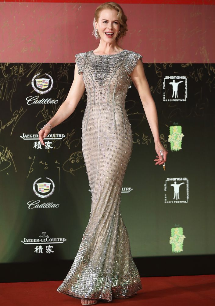 Nicole Kidman at the 17th Shanghai International Film Festival Opening Ceremony