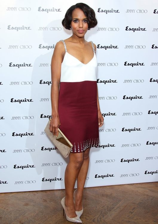 Kerry Washington at the Jimmy Choo & Esquire London Collections Launch Party