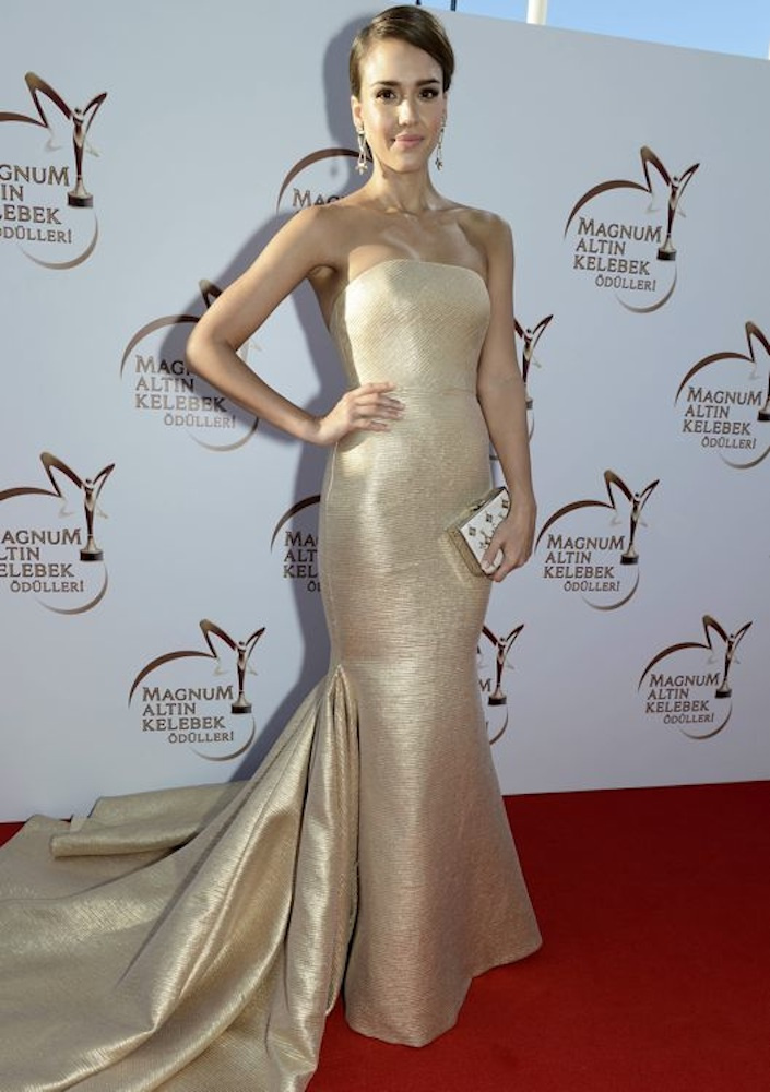 Jessica Alba at the Magnum Golden Butterfly Awards
