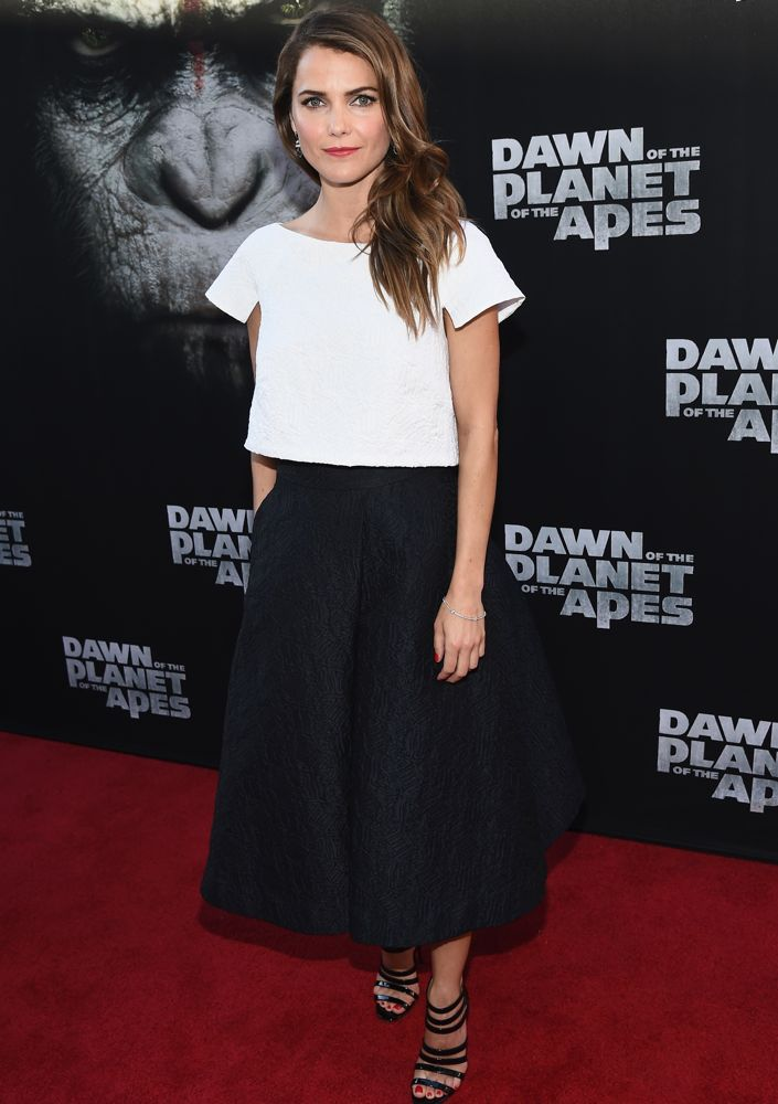 Keri Russell at the San Francisco Premiere of Dawn of the Planet of the Apes