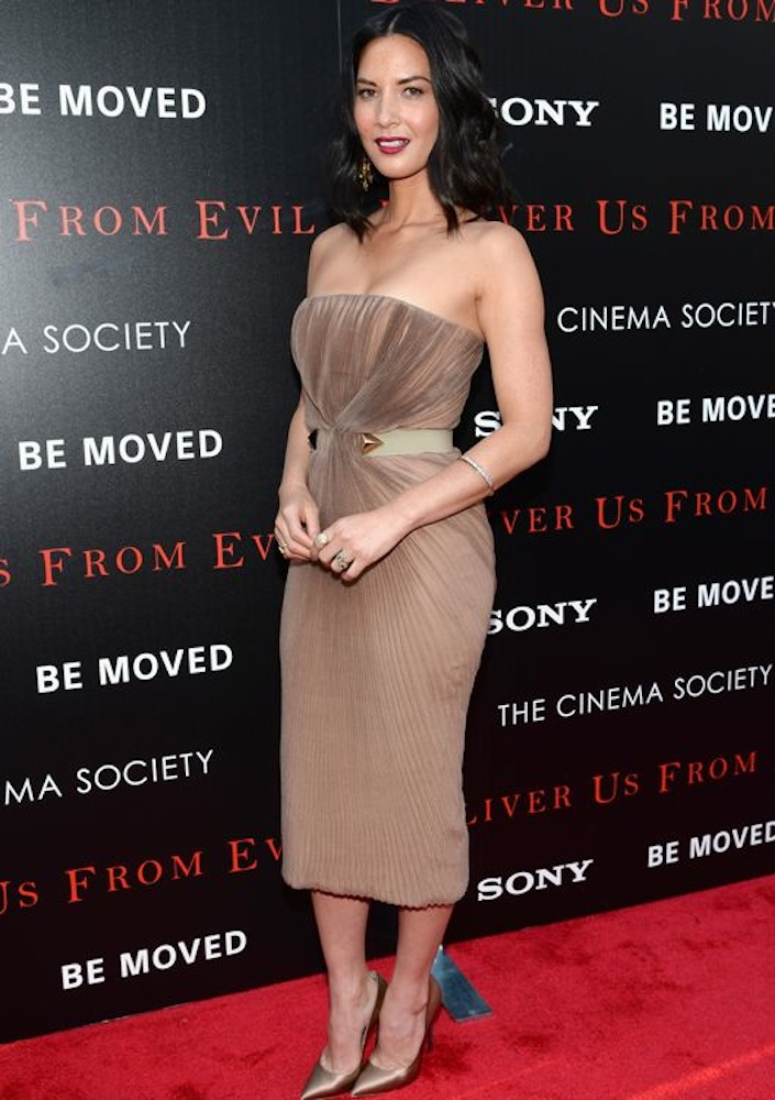 Olivia Munn at the New York Screening of Deliver Us from Evil