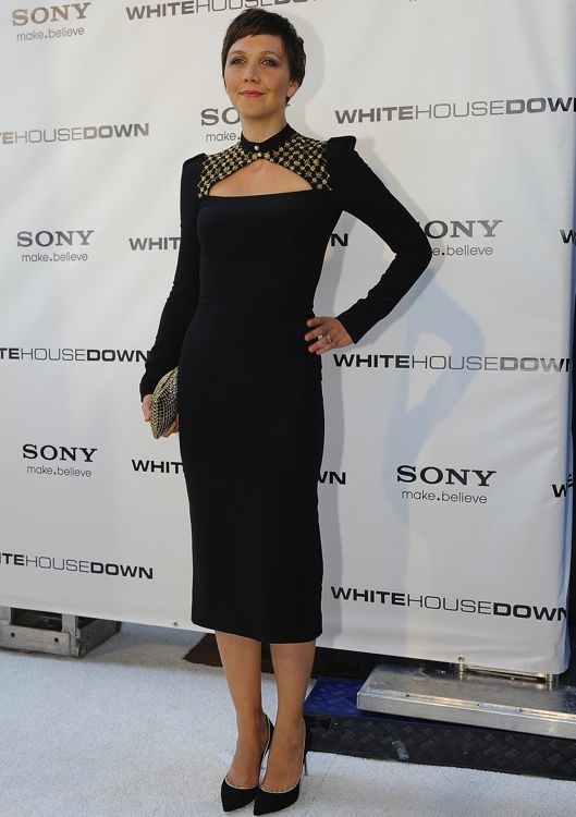 Maggie Gyllenhaal at the Washington, D.C. Screening of White House Down