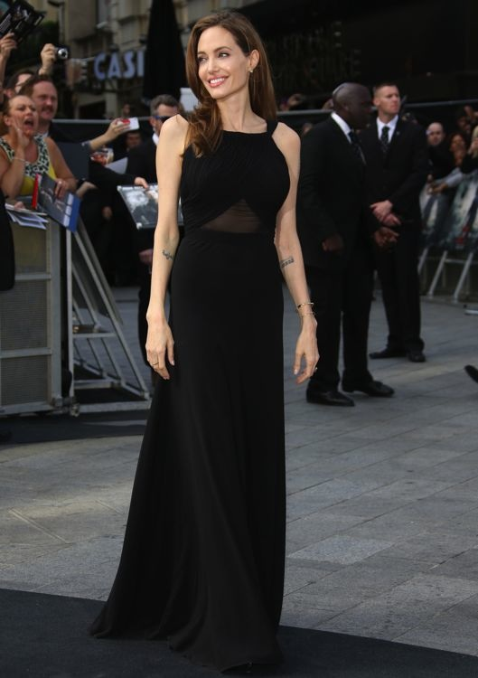 Angelina Jolie at the London Premiere of World War Z