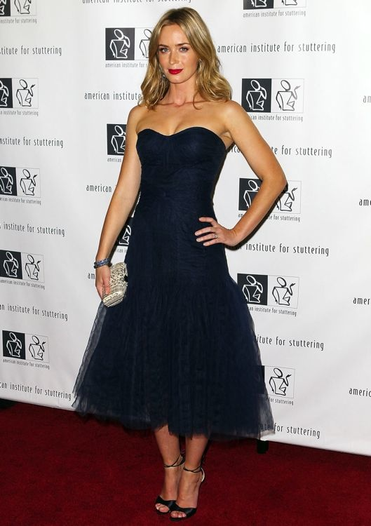Emily Blunt at the 7th Annual Freeing Voices, Changing Lives Benefit Gala
