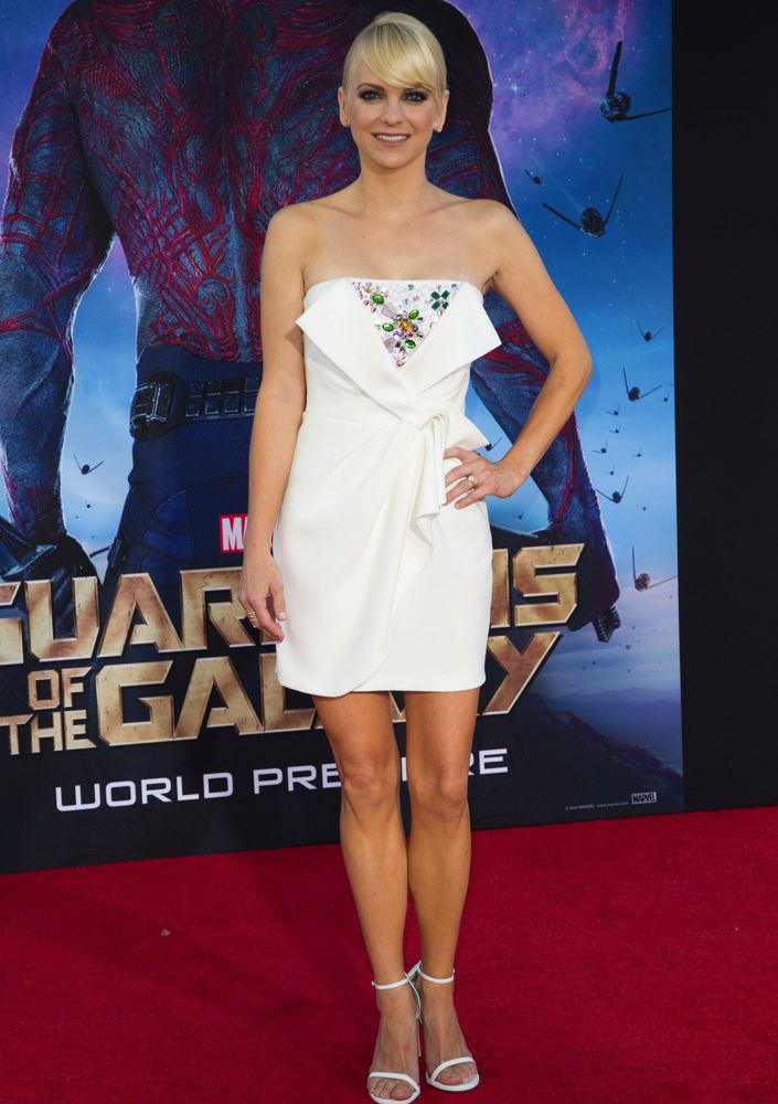 Anna Faris at the Los Angeles Premiere of Guardians of the Galaxy