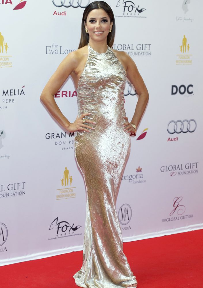Eva Longoria at the Global Gift Gala 2014