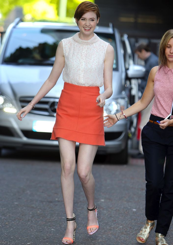 Karen Gillan Outside ITV Studios