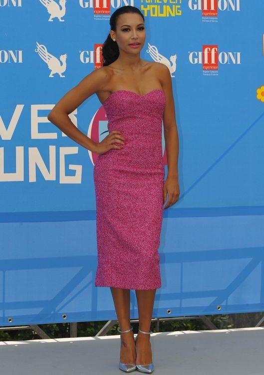 Naya Rivera at a 2013 Giffoni Film Festival Photocall
