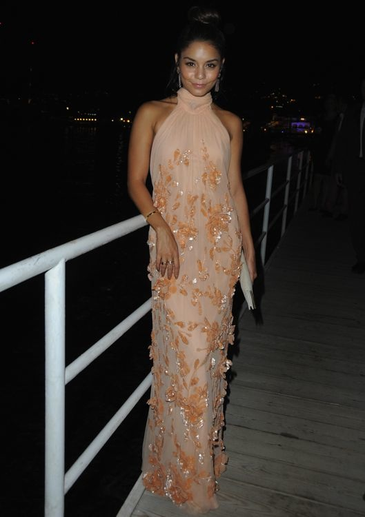 Vanessa Hudgens at the 2013 Ischia Film Festival Premiere of The Frozen Ground
