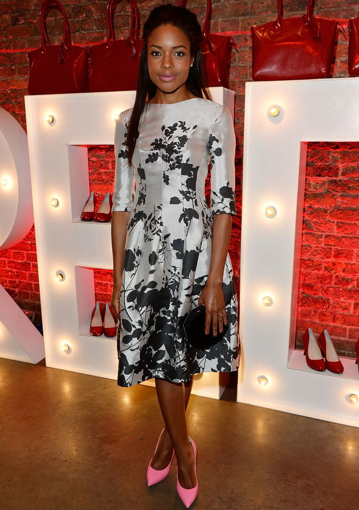 Naomie Harris at the Launch Party to Celebrate Virgin Atlantic's New Vivienne Westwood Uniform Collection