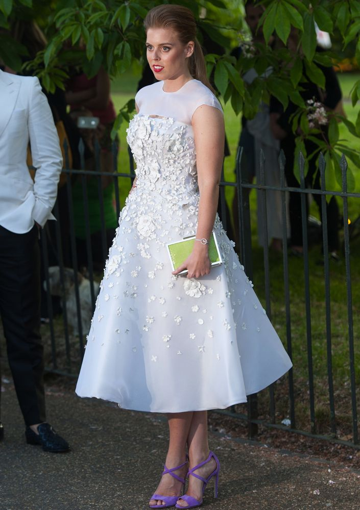 Princess Beatrice at the Serpentine Gallery Summer Party