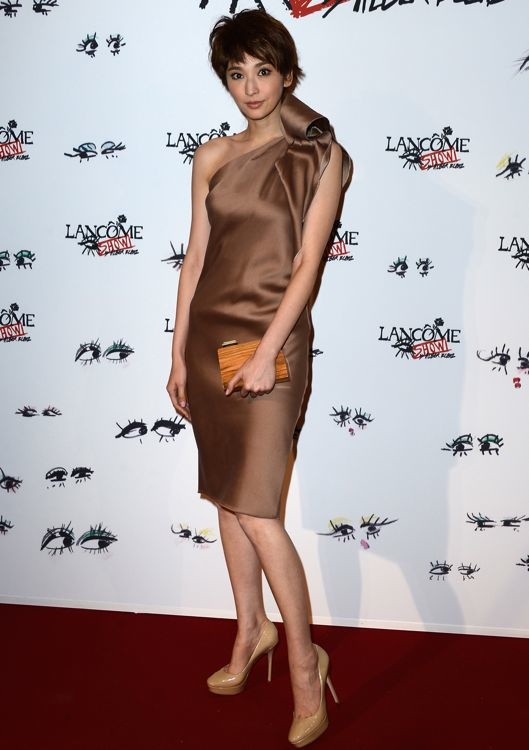 Pace Wu at the Lancôme Show by Alber Elbaz Party