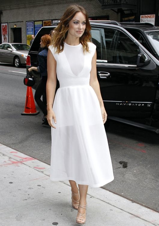 Olivia Wilde Appearing on the Late Show with David Letterman