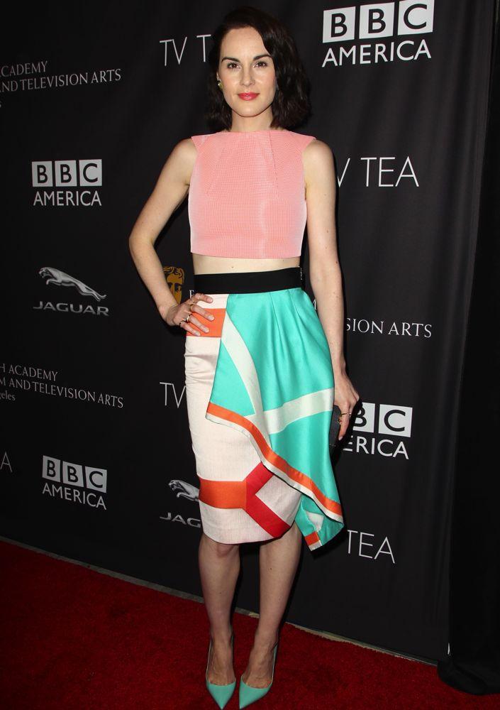 Michelle Dockery at the BAFTA Los Angeles TV Tea Party 2014