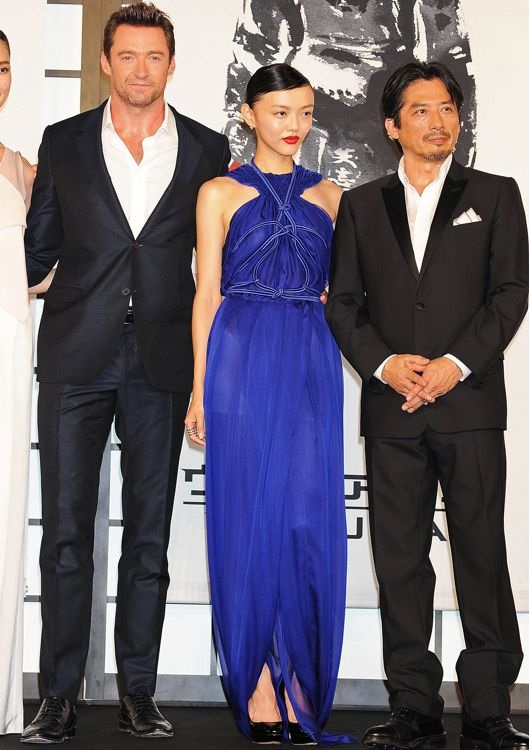 Rila Fukushima at the Tokyo Premiere of The Wolverine