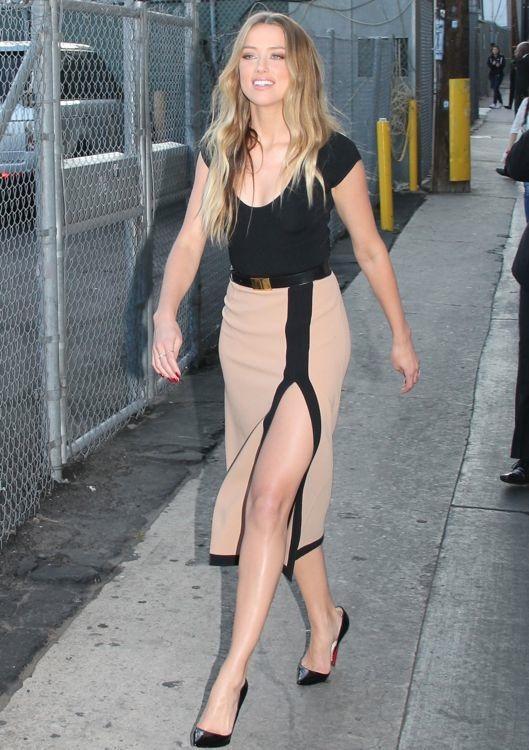 Amber Heard Appearing on Jimmy Kimmel Live!