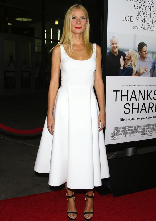 Gwyneth Paltrow at the Premiere of Thanks for Sharing