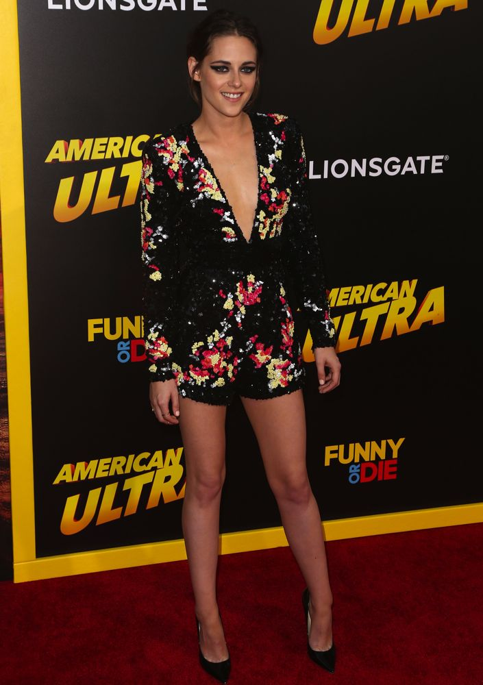 Kristen Stewart at the Los Angeles Premiere of American Ultra