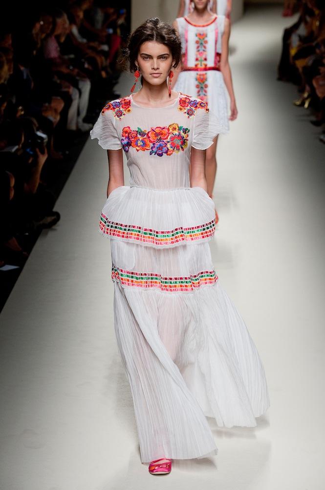 Mexican-Inspired at Alberta Ferretti