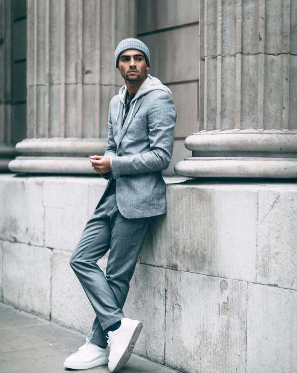 Famous fashion blogger - Joey London