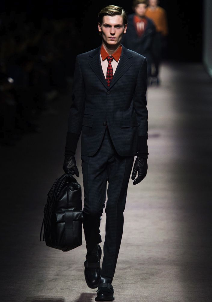 Canali Men's Fall 2016