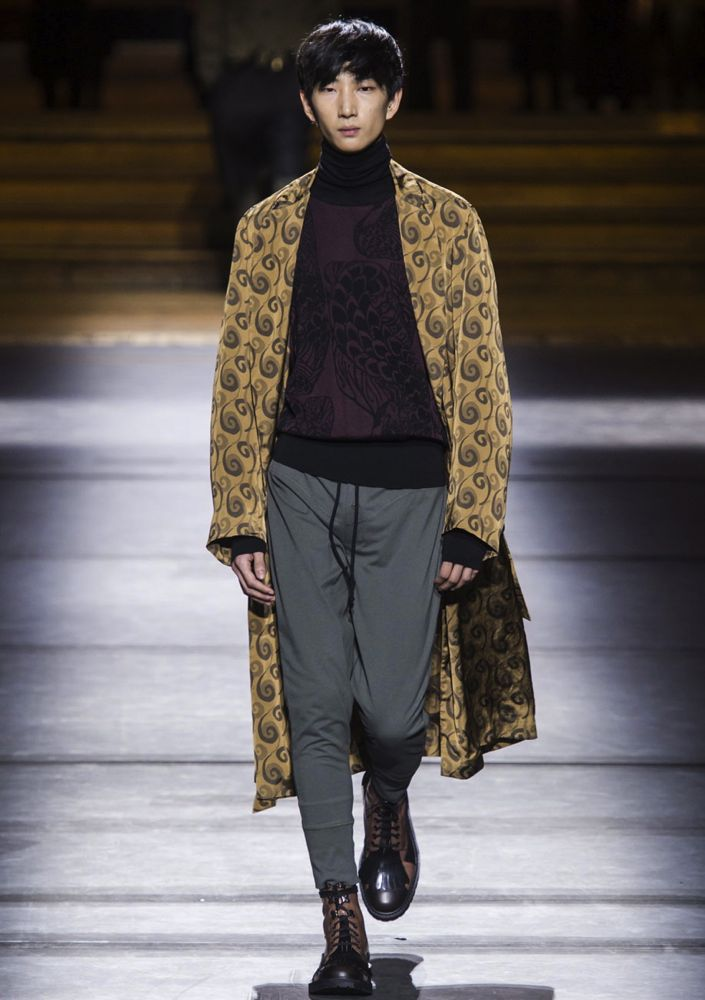 Dries Van Noten Men's Fall 2016