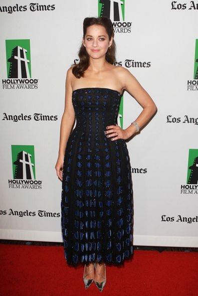 Marion Cotillard at the 16th Annual Hollywood Film Awards Gala
