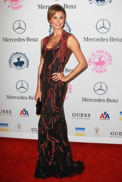 Stacy Keibler at the 26th Anniversary Carousel of Hope Ball
