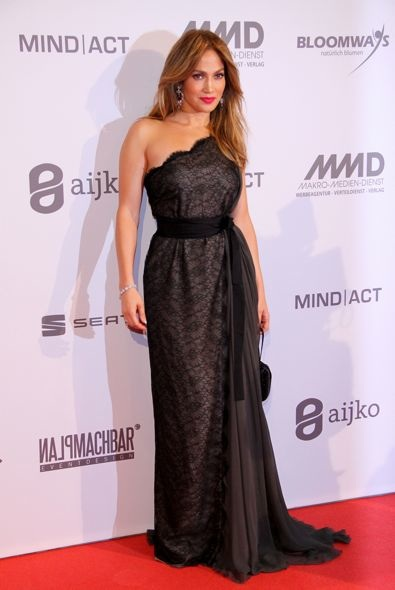 Jennifer Lopez at the UNESCO Charity Gala