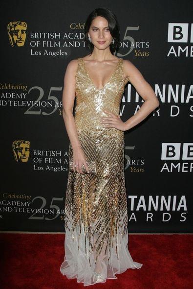 Olivia Munn at the 2012 BAFTA Los Angeles Britannia Awards