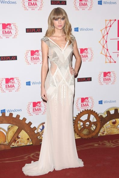 Taylor Swift at the 2012 MTV Europe Music Awards