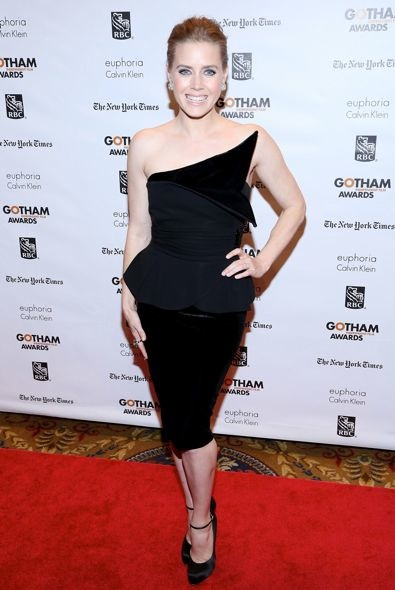 Amy Adams at the 2012 Gotham Independent Film Awards