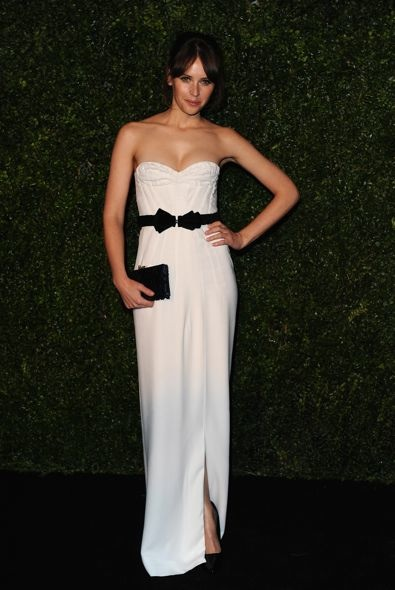 Felicity Jones at the 58th London Evening Standard Theatre Awards