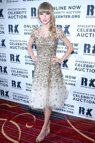 Taylor Swift at the 2012 Ripple of Hope Gala