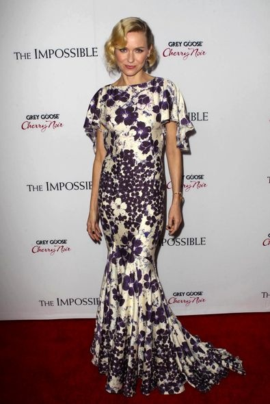 Naomi Watts at the Los Angeles Premiere of The Impossible