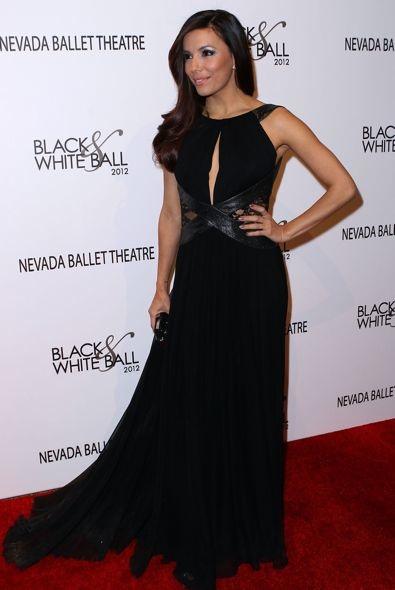 Eva Longoria at the Nevada Ballet Theatre's Black & White Ball