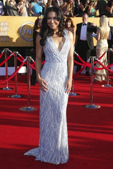 Naya Rivera at the 18th Annual Screen Actors Guild Awards
