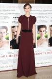 Keira Knightley at the London Gala Screening of A Dangerous Method