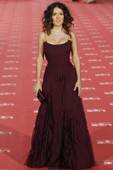 Salma Hayek at the 2012 Goya Awards