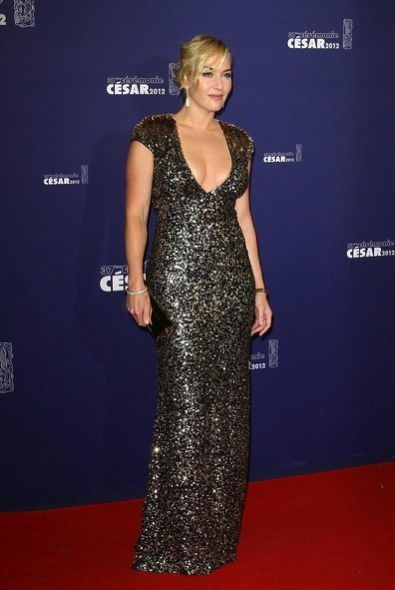 Kate Winslet at the 37th Cesar Film Awards