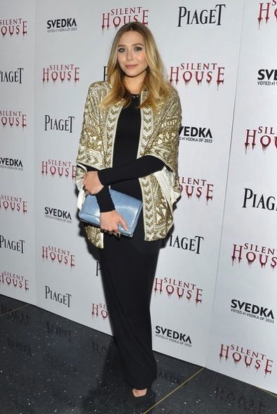 Elizabeth Olsen at the New York City Premiere of Silent House