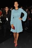 Rosario Dawson at the Elie Saab Fall 2012 Show