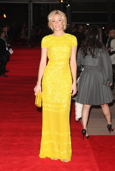 Elizabeth Banks at the London Premiere of The Hunger Games