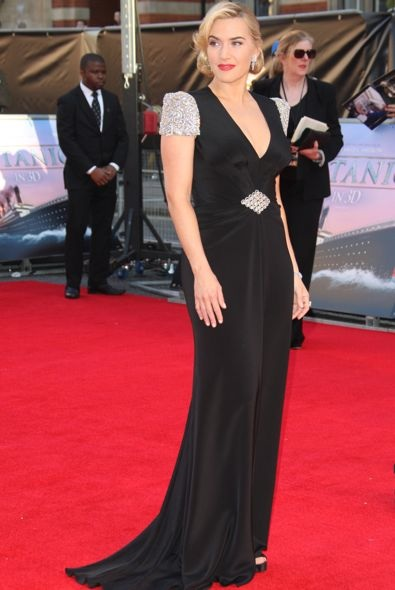 Kate Winslet at the World Premiere of Titanic 3D
