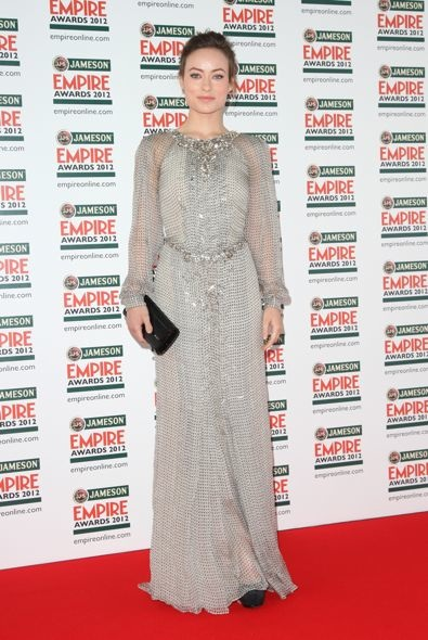 Olivia Wilde at the 2012 Jameson Empire Awards