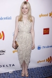 Dakota Fanning at the 2012 GLAAD Media Awards