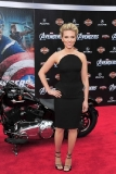 Scarlett Johansson at the World Premiere of The Avengers