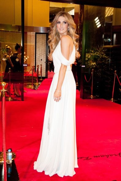 Delta Goodrem at the 2012 Logie Awards