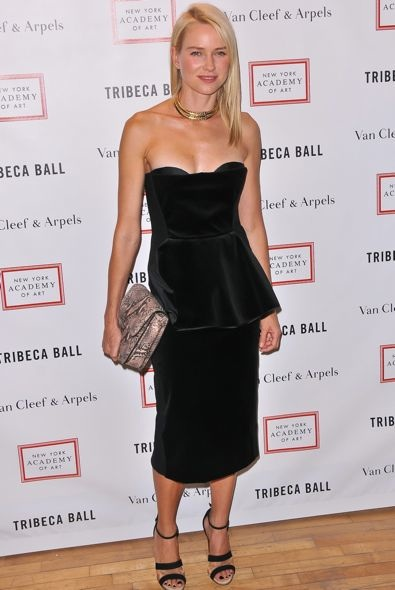 Naomi Watts at the 2012 Tribeca Ball